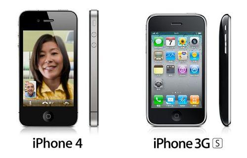 Iphone4vs3g