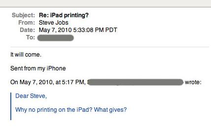 Jobs-mail