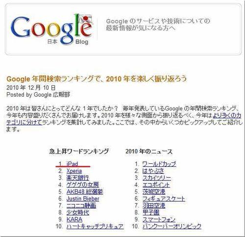 GoogleZeitgeist 2010-japan2