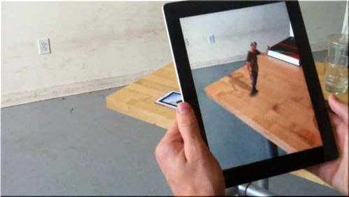String Augmented Reality