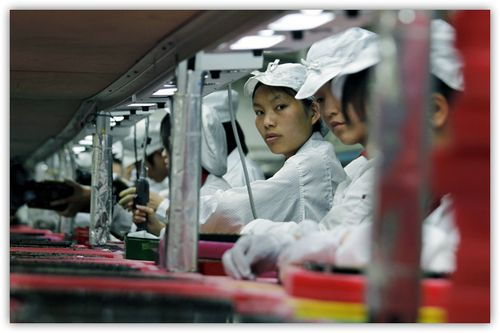 ~ foxconn-factory