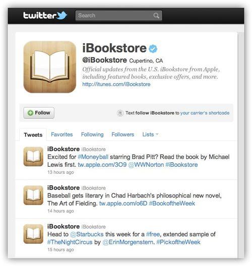 ~ iBookstore (ibookstore) on Twitter