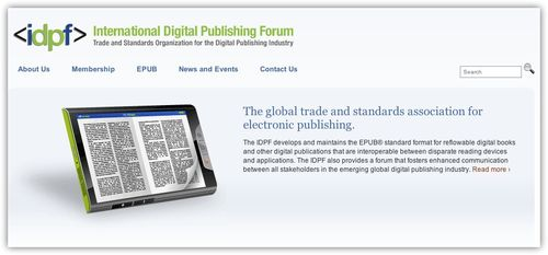 ~ International Digital Publishing Forum | Trade and Standards Organization for the Digital Publishing Industry
