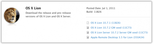 OS X 10.7.2 GM