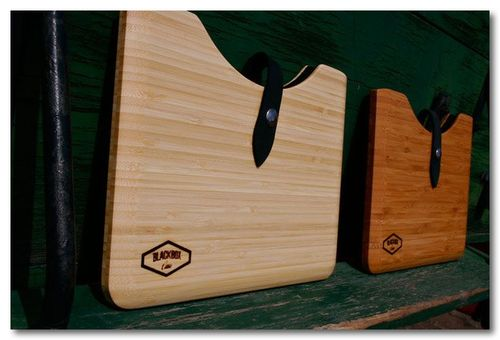 Wood Macbook Pro & iPad 2 Cases by Blackbox Case —2 Bamboo iPad 2