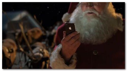 ~ Apple - iPhone 4S - TV Ad - Santa - YouTube