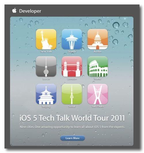 XiOS 5 Tech Talk World Tour 2011 - nondualone@gmail.com
