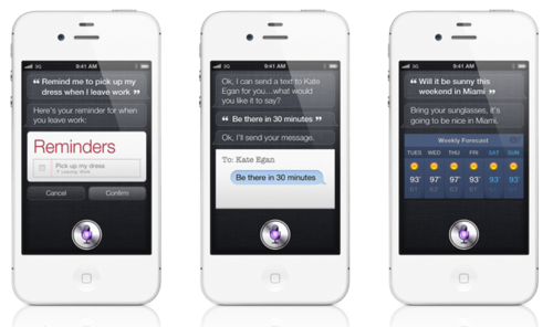 IPhone 4S - Ask Siri to help you get things done.