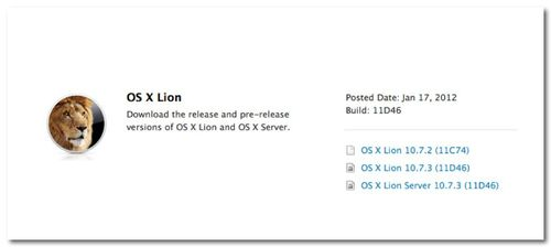 ~ Apple releases OS X Lion 10.7.3 build 11D46 with no known issues ahead of public release   9to5Mac   Apple Intelligence-1