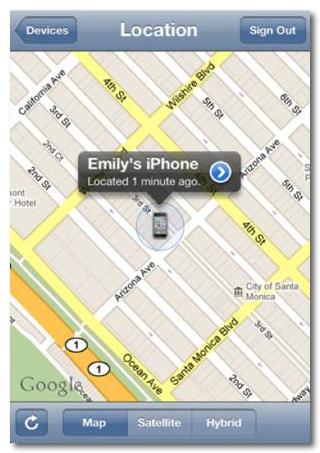 IPhoneを探す 3