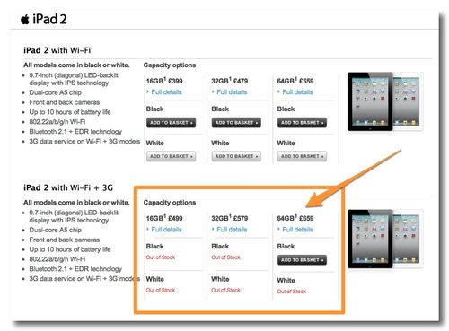 ~ iPad 2 tariffs - The Carphone Warehouse