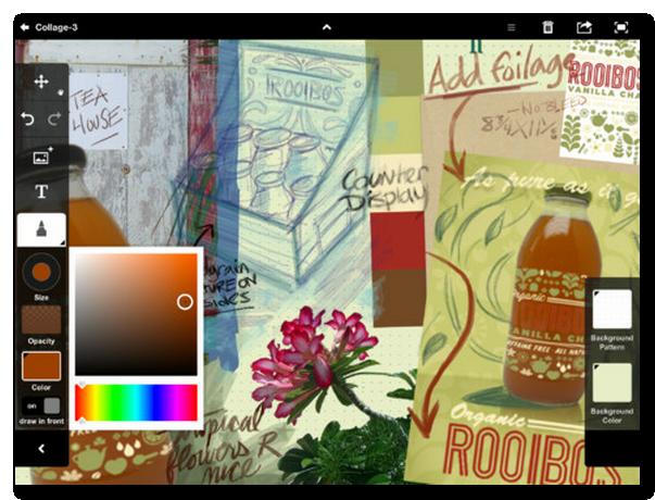 ~ iTunes App Store で見つかる iPad 対応 Adobe Collage-1