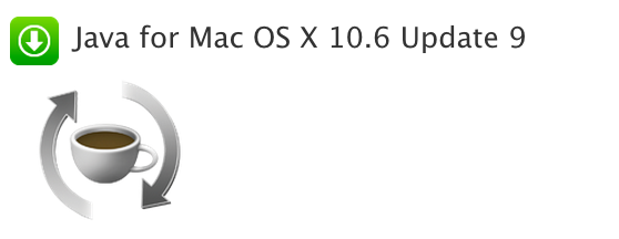 Java for Mac OS X 10.6 Update 9