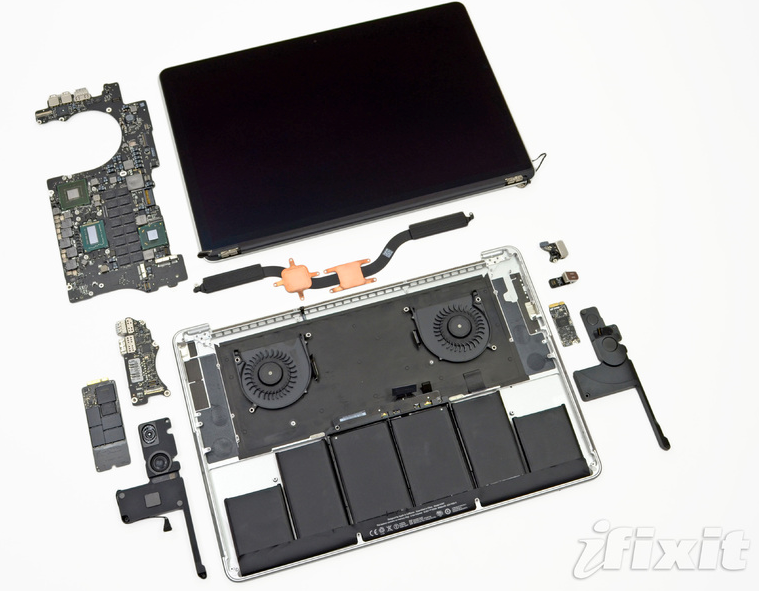 MacBook Pro with Retina Display Teardown - Page 3 - iFixit
