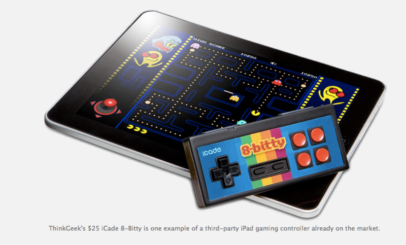 Apple working on physical game controller for iPads and other iOS devices