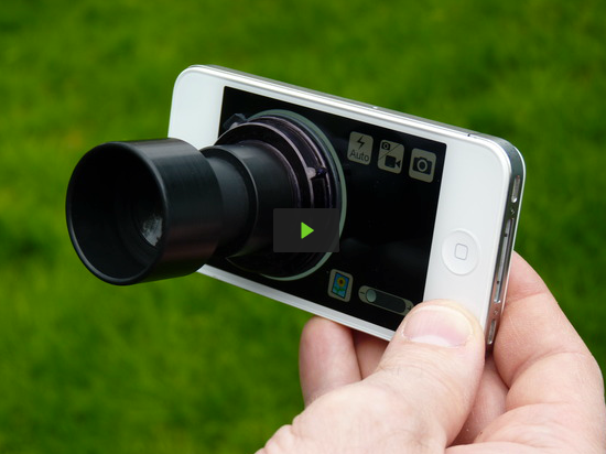 Daylight Viewfinder for iPhone by Paul Anderson — Kickstarter