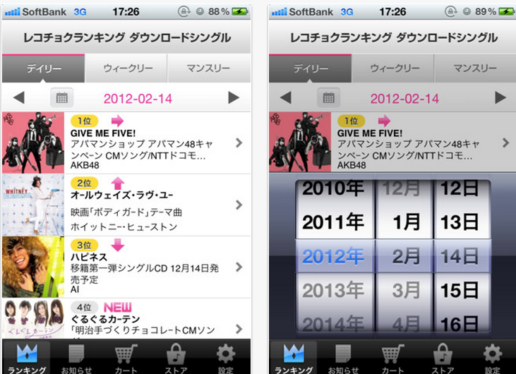 ITunes App Store でご利用いただける iPhone 3GS、iPhone 4、iPhone 4S、iPod touch(第3世代)、iPod touch (第4世代)、iPad 対応-1 14