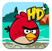 ITunes App Store で見つかる iPad 対応 Angry Birds Seasons HD