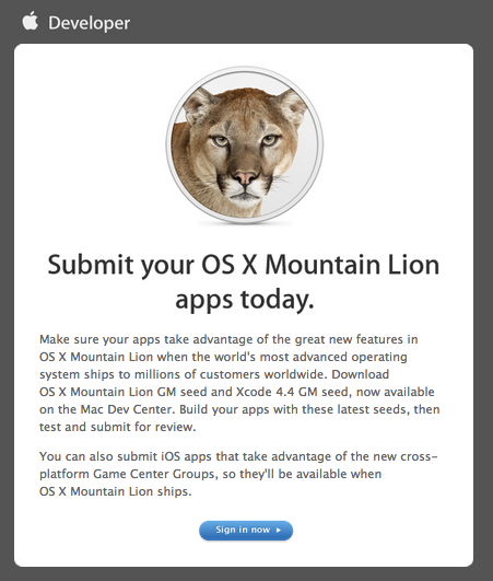 Submit your OS X Mountain Lion apps today. - nondualone@gmail.com - Gmail-1