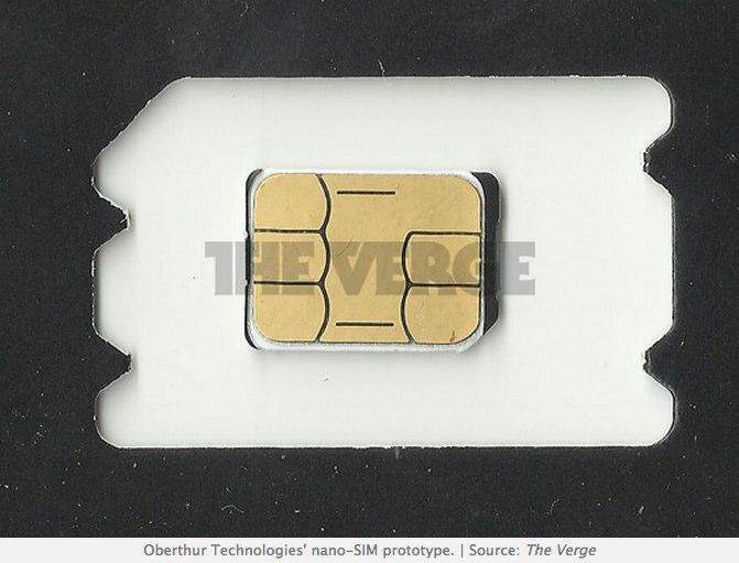 ETSI chooses Apple_s _nano-SIM_ design as new standard