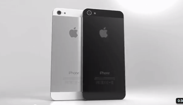 IPhone 5 Renderings Based on Leaked Parts - YouTube