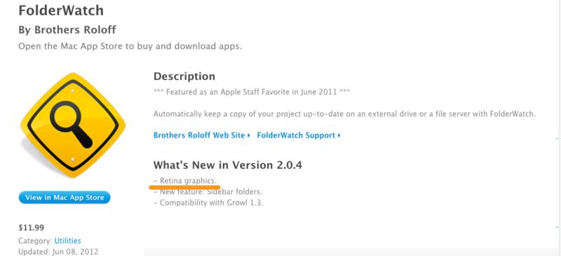 Mac App Store - FolderWatch-1