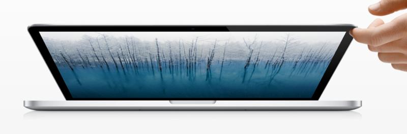 アップル - ノートパソコン - MacBook Pro Retinaディスプレイモデル - 特長