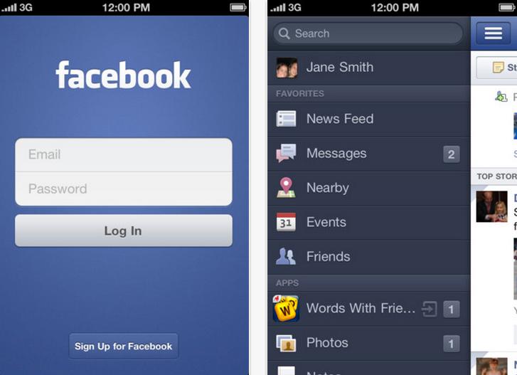 App Store - Facebook 2