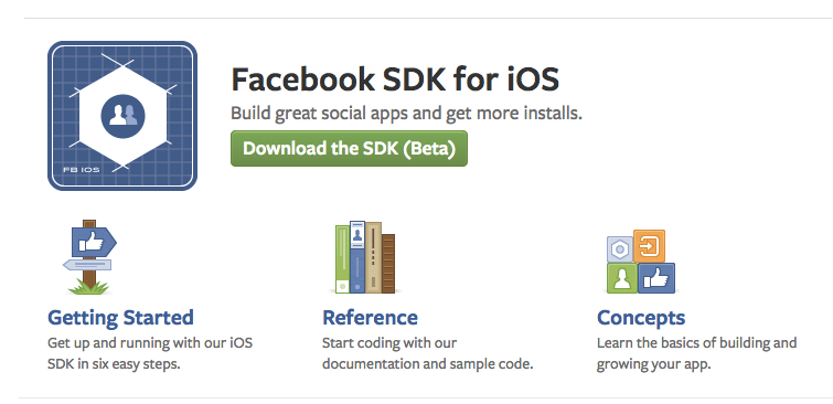 Facebook SDK for iOS - Facebook開発者