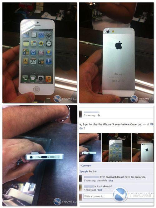 IPhone 5-leak