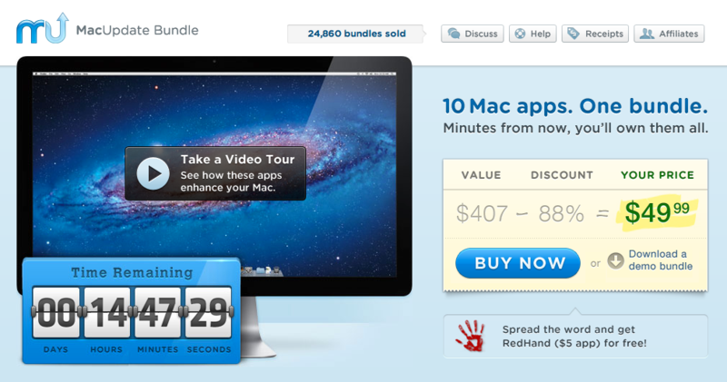 MacUpdate June 2012 Bundle - 10 Apps for only $49.99
