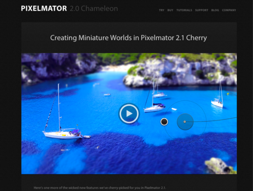 Pixelmator - Blog